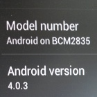 Raspberry Pi: Android 4 fast fertig portiert