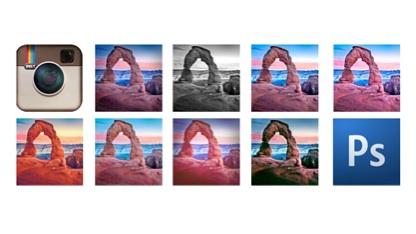 Instagram-Actions für Photoshop