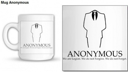 Operation Anon Trademark: Tasse ohne Vergebung