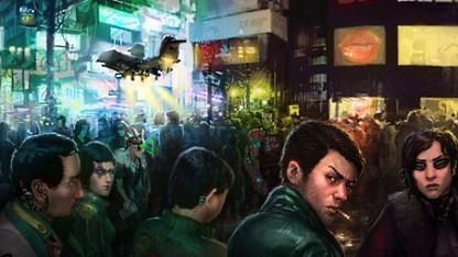 Artwork von Shadowrun Online