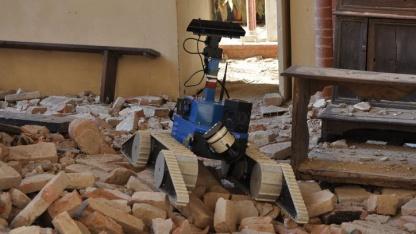 Robotereinsatz in Mirandola: UGV fertigt 3D-Karte