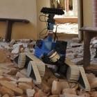 Erdbeben in Italien: Roboter erkunden beschädigte Kirchen
