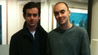 Jack Dorsey (links) und TheFancy-Chef Joe Einhorn