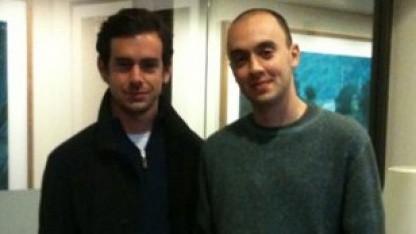 Jack Dorsey (links) und TheFancy-Chef Joe Einhorn