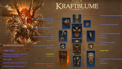 Charakterprofil im Battle.net
