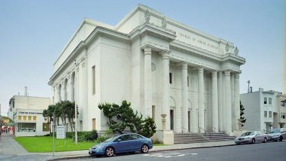 Zentrale des Internet Archive in einer ehemaligen Kirche in San Francisco