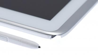 Apple will gegen die Stiftfunktionen in Geräten von Samsung klagen.