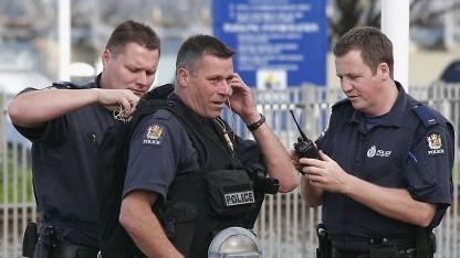 Armed Offenders Squad im September 2005