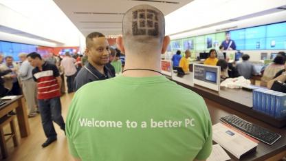 Microsoft Store in Atlanta im Mai 2011