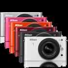 Nikon: Evilkamera 1 J2 wird orange