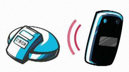 NFC-Aufkleber der Targobank