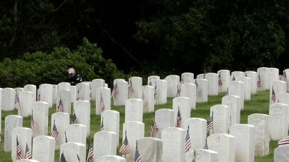 Friedhof in Kalifornien