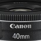 Canon: Neues Objektiv nicht zu fest drücken