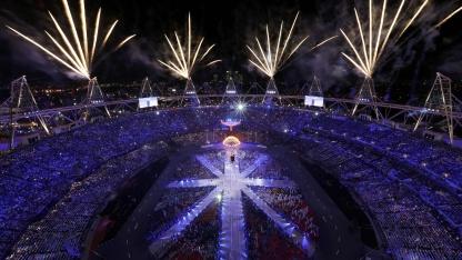 Abschlussfeier der Olympischen Spiele in London