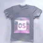 TshirtOS: Fotografierendes T-Shirt mit LED-Display