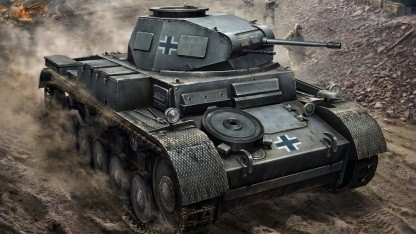 Artwork von World of Tanks Generals