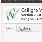 Freies Office-Paket: Calligra und Krita 2.5 veröffentlicht