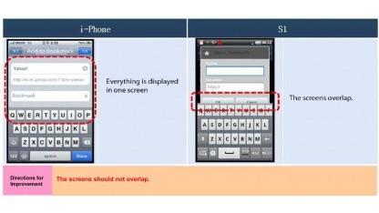 Samsung vergleicht iPhone und Galaxy S.