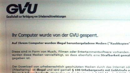 Der GVU-Trojaner