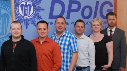 Der Vorstand der Jungen Polizei