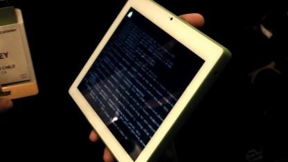 Bildungsrechner auf der CES: Aus XO-3 ist XO-4 Touch geworden.