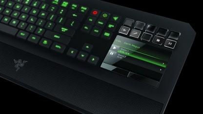 Eine Switchblade-Tastatur gibt es jetzt auch ohne Star-Wars-Schmuckwerk.