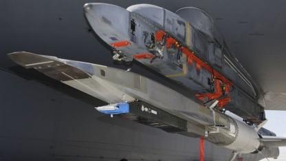 X-51A vor dem Start