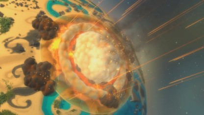 Planetary Annihilation - Asteroiden sind unangenehme Waffen.