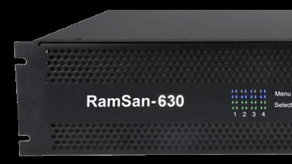 Ramsan-Systeme stellen schnellen Storage im Netzwerk bereit.