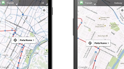 Google Maps für Android: mehr Übersicht durch neuen Ansichtsmodus