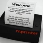 mPrinter: Winziger Internetdrucker findet Nachahmer