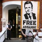 Balkonrede: Assange fordert Freilassung von Manning und sonst nichts