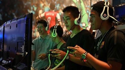 Besucher der Gamescom 2012