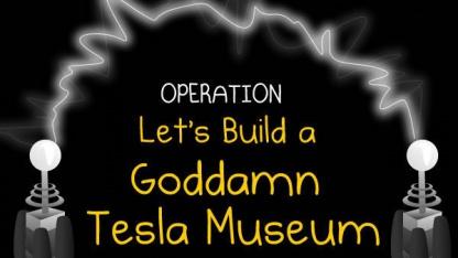 The Oatmeal: Lasst uns ein gottverdammtes Tesla-Museum bauen!
