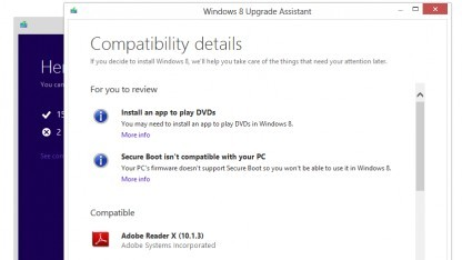 Der Windows 8 Upgrade Assistant