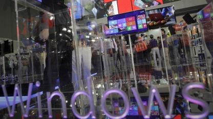 Microsofts Windows-8-Stand auf der Computex 2012