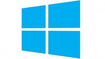 Das Startlogo von Windows 8