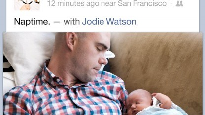 Facebooks iOS-App wurde komplett erneuert.
