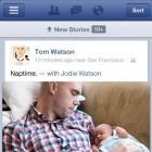Verbesserte App: Facebook auf iPhone und iPad beschleunigt