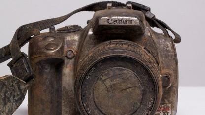 Bild der Canon EOS 350D, das Michael Comeau Golem.de freundlicherweise zur Verfügung gestellt hat.