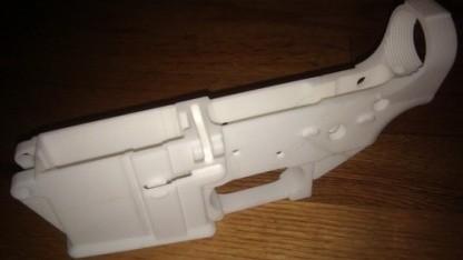 Waffen zum Drucken: Teil der Handfeuerwaffe AR-15