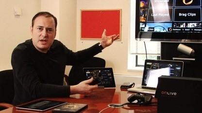 Steve Perlman, Gründer und Chef von Onlive