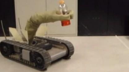 Luft, Schnüre, Aktoren und Gelenke: Der Airarm kommt ohne Motoren aus.