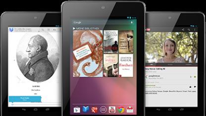 Nexus 7 erhält Android 4.2.