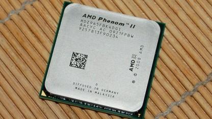 Der drei Jahre alte Phenom II X4 965, hier die erste Version mit 140 Watt TDP