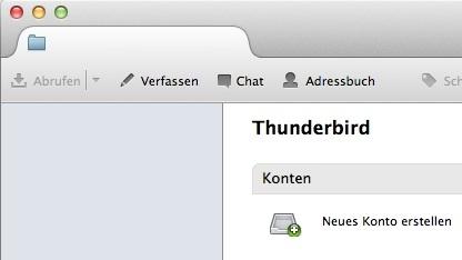 Thunderbird 15 enthält neue Funktionen