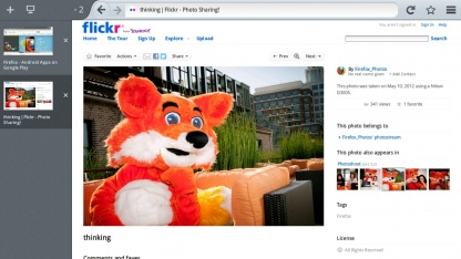 Firefox 15 für Android-Tablets