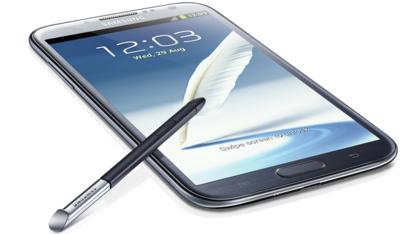 Das Galaxy Note 2 macht einen fast durchweg guten Eindruck.