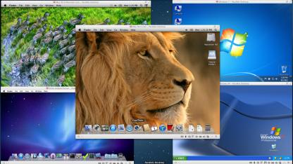 Parallels Desktop 8 unterstützt Mountain-Lion-Funktionen auch unter Windows