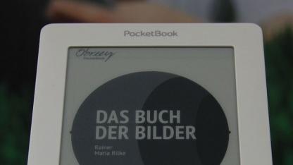 E-Book-Reader Basic: Bedienung über Tasten